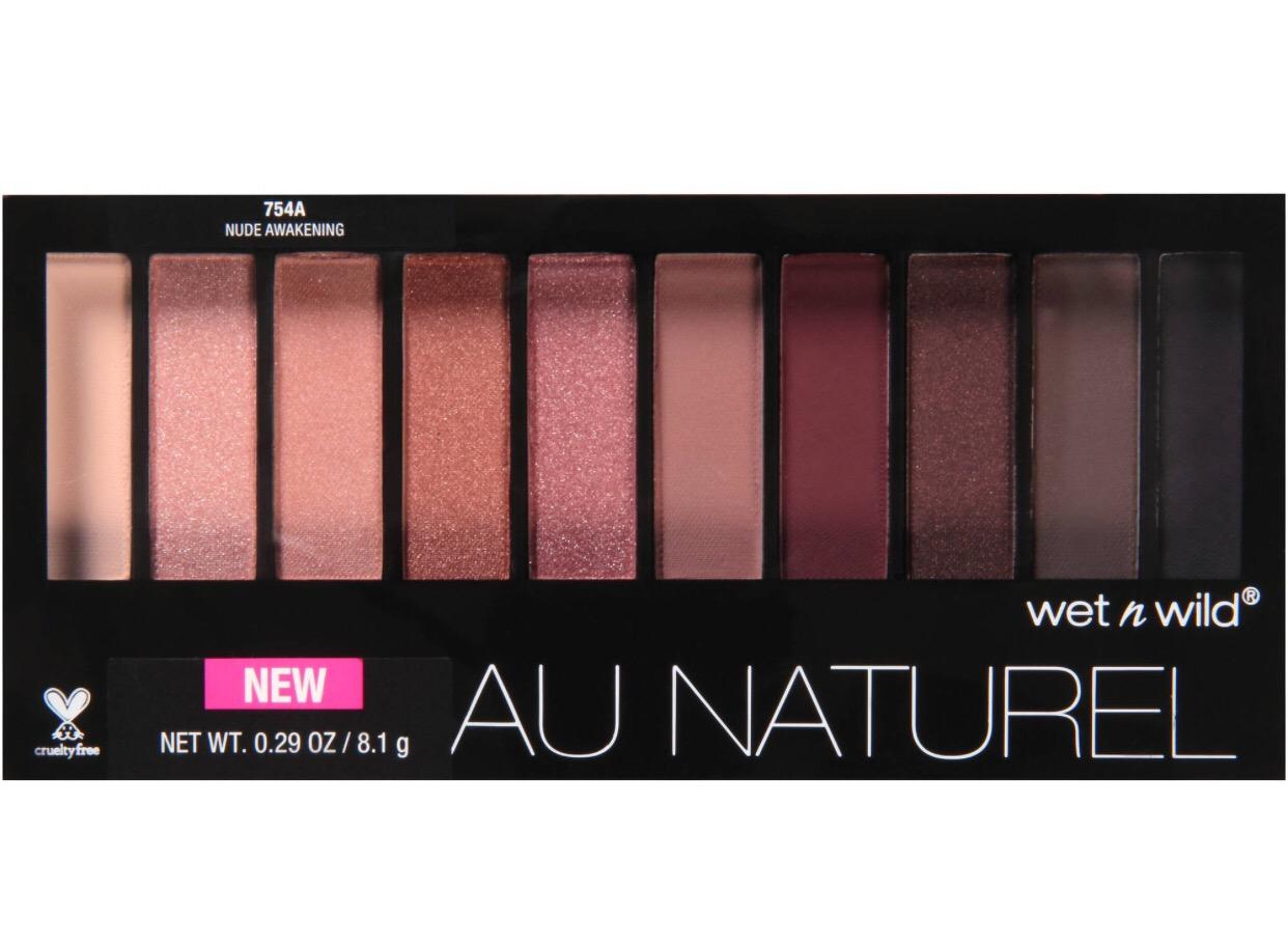Drugstore Makeup Look Kristen Stephens Wet N Wild Au Naturel Palette Eyeshado Natural In Nude Awakening